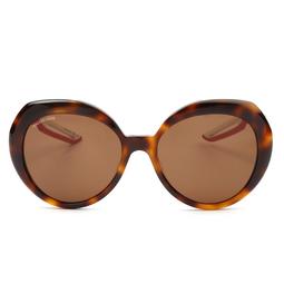 Balenciaga® Round Sunglasses: BB0024S color Havana 002.