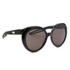 Balenciaga® Round Sunglasses: BB0024S color Black 004 - product thumbnail 2/4.