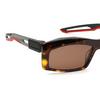 Balenciaga® Rectangle Sunglasses: BB0026S color Havana 003 - product thumbnail 3/4.