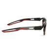 Balenciaga® Rectangle Sunglasses: BB0026S color Havana 003 - product thumbnail 4/4.