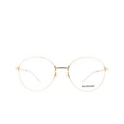Balenciaga® Eyeglasses: BB0035O color Gold 003.