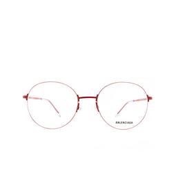 Balenciaga® Eyeglasses: BB0035O color Red 004.