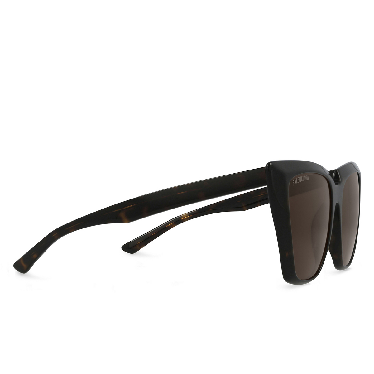Balenciaga® Butterfly Sunglasses: BB0046S color Havana 002 - 2/3.