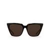Balenciaga® Butterfly Sunglasses: BB0046S color Havana 002 - product thumbnail 1/3.