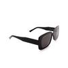 Balenciaga® Rectangle Sunglasses: BB0048S color Black 001 - product thumbnail 2/3.