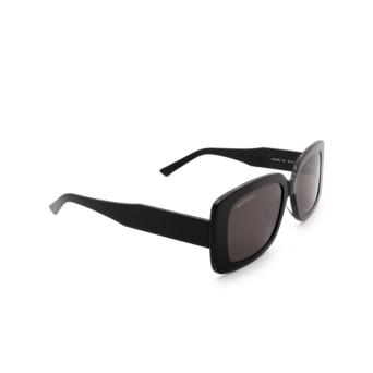 Balenciaga® Rectangle Sunglasses: BB0048S color Black 001.