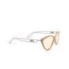 Balenciaga® Cat-eye Sunglasses: BB0052S color Brown 002 - product thumbnail 2/3.