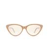 Balenciaga® Cat-eye Sunglasses: BB0052S color Brown 002 - product thumbnail 1/3.
