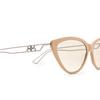 Balenciaga® Cat-eye Sunglasses: BB0052S color Brown 002 - product thumbnail 3/3.