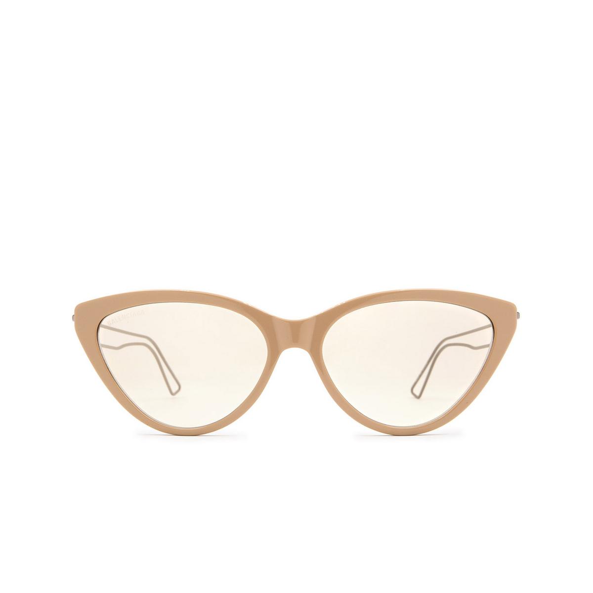 Balenciaga® Cat-eye Sunglasses: BB0052S color Brown 002 - 1/3.