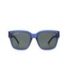 Balenciaga® Square Sunglasses: BB0056S color Blue 006 - product thumbnail 1/3.