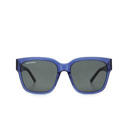 Balenciaga® Square Sunglasses: BB0056S color Blue 006.