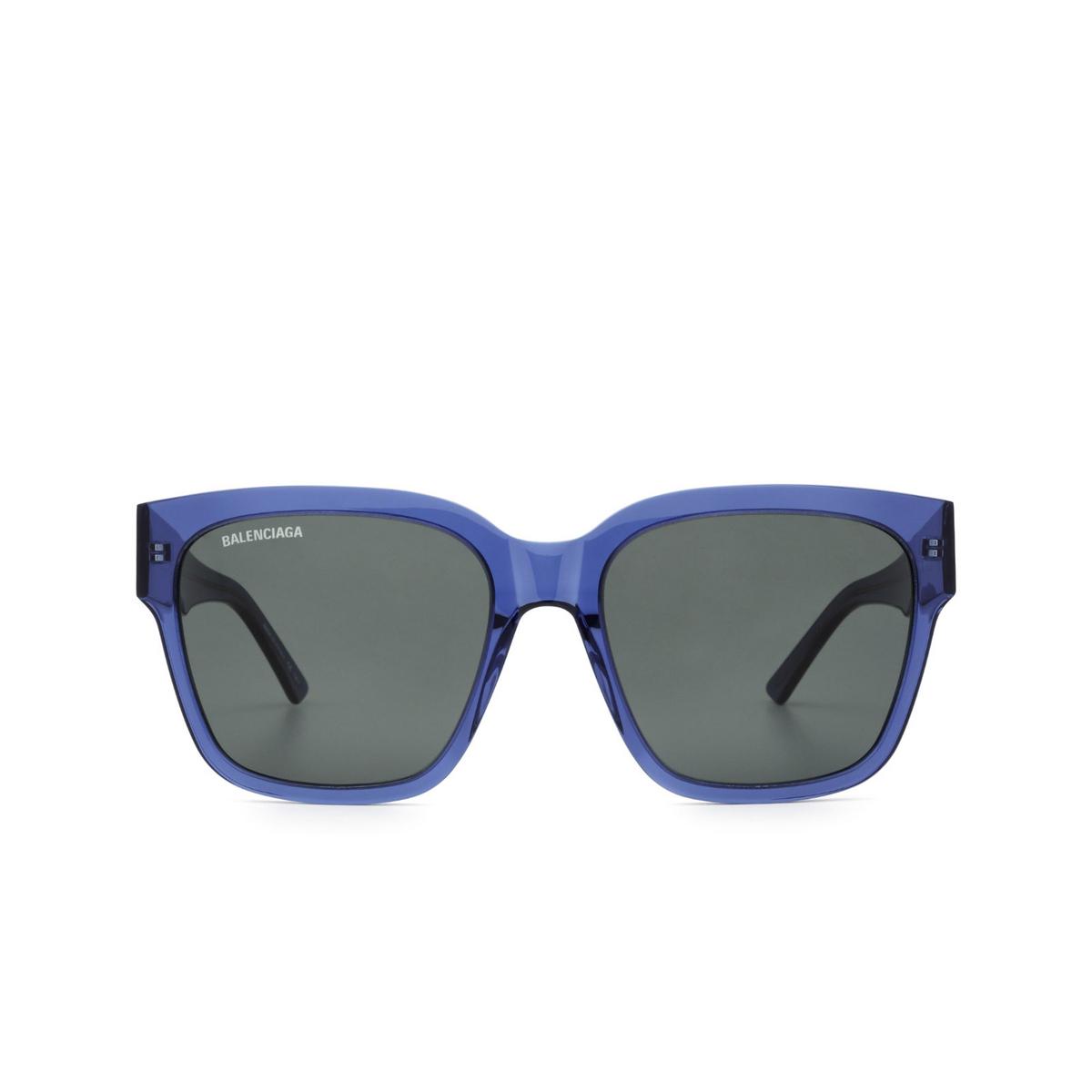 Balenciaga® Square Sunglasses: BB0056S color Blue 006 - 1/3.