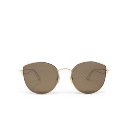 Balenciaga® Sunglasses: BB0059SK color Gold 002.