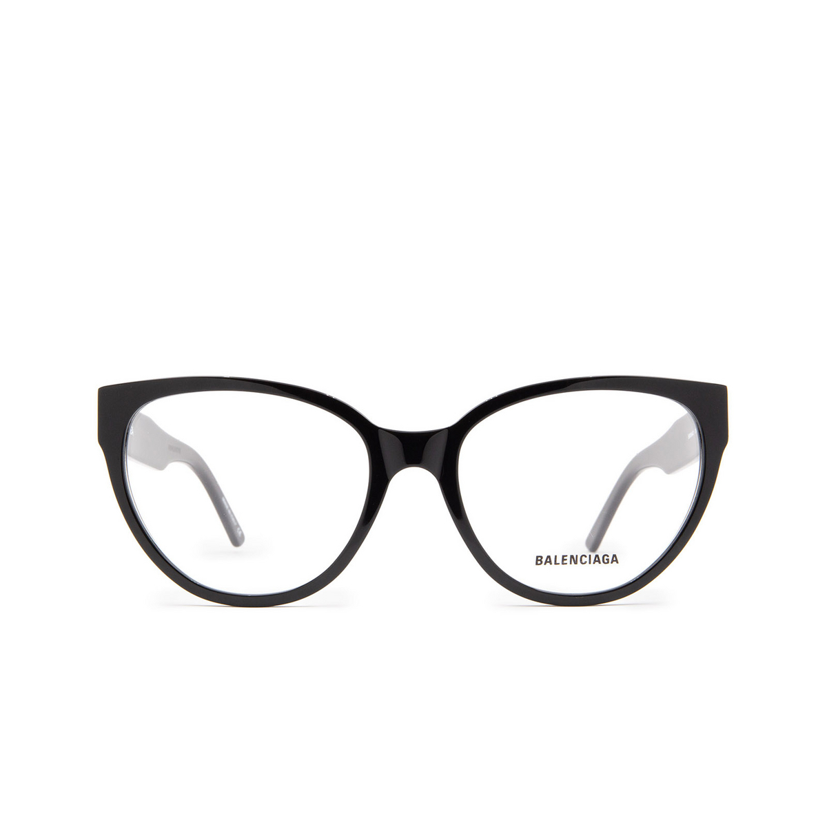 Balenciaga® Butterfly Eyeglasses: BB0064O color Black 001 - front view.