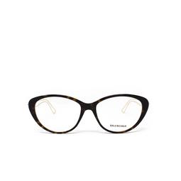Balenciaga® Eyeglasses: BB0067O color Havana 002.