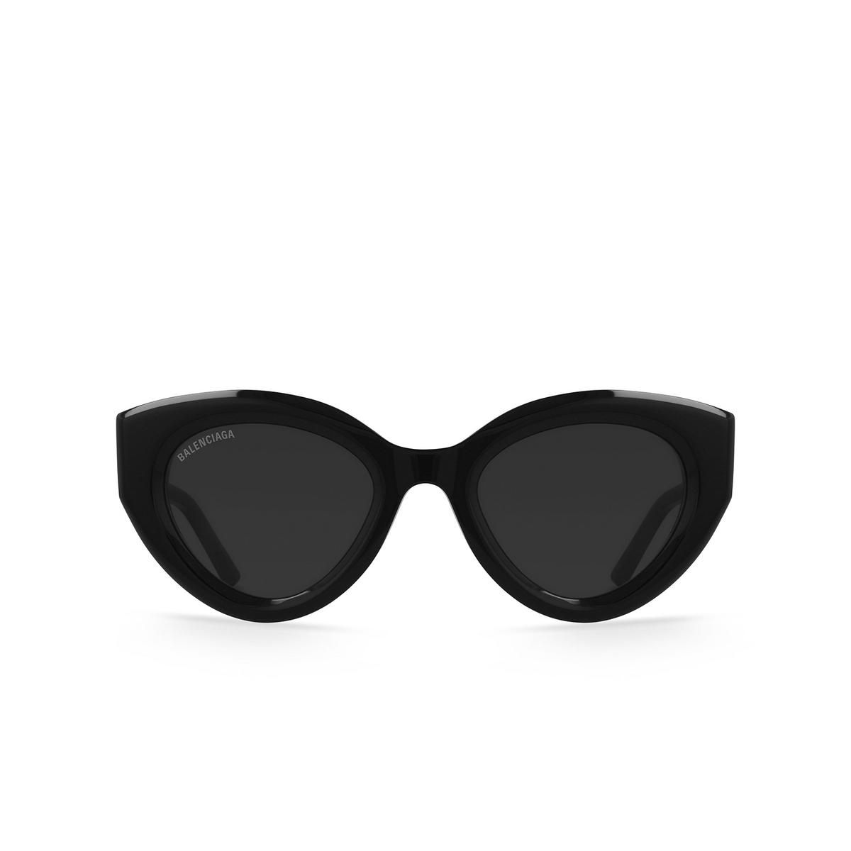 Balenciaga® Cat-eye Sunglasses: BB0073S color Black 001.