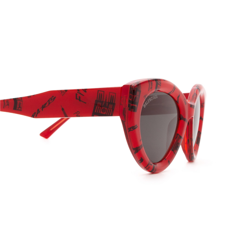 Balenciaga® Cat-eye Sunglasses: BB0073S color Red 003.
