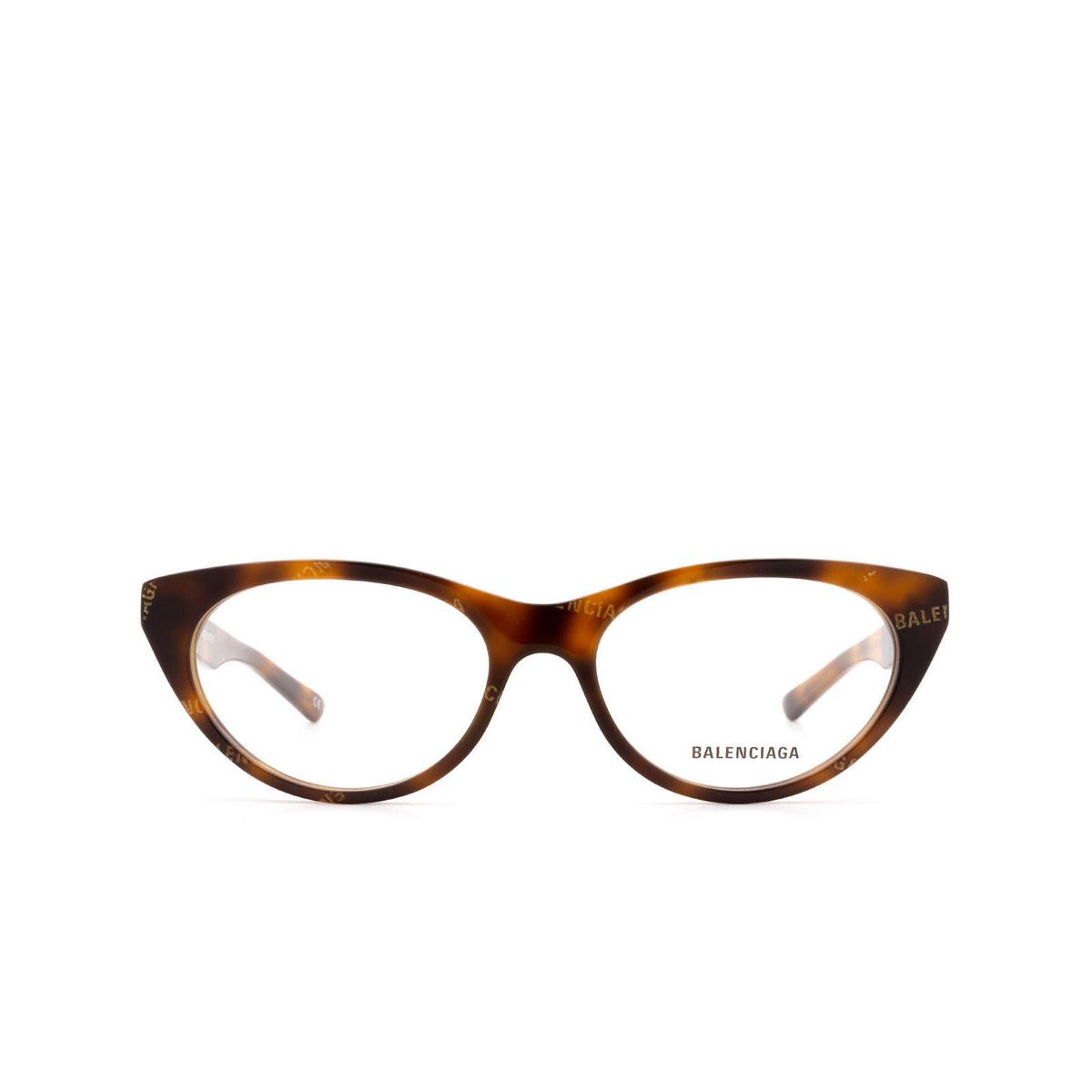 Balenciaga® Cat-eye Eyeglasses: BB0079O color Havana 002.