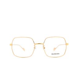 Balenciaga® Eyeglasses: BB0090O color Gold 003.