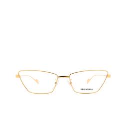Balenciaga® Eyeglasses: BB0091O color Gold 003.