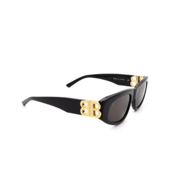 Balenciaga® Oval Sunglasses: BB0095S color Black 001.