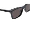 Balenciaga® Square Sunglasses: BB0099S color Black 001 - product thumbnail 3/3.