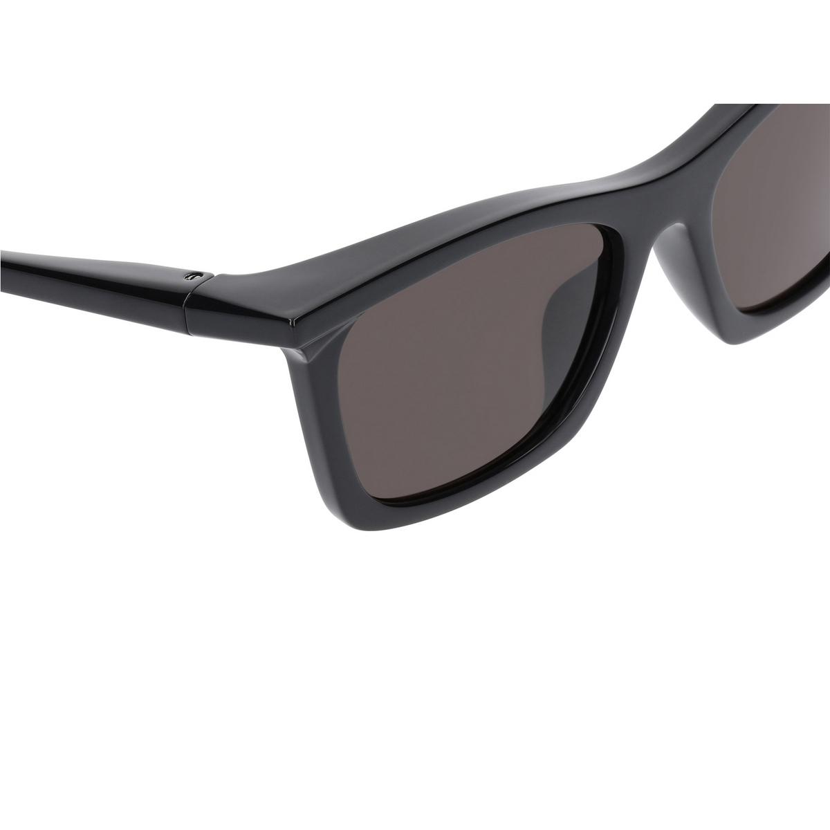 Balenciaga® Square Sunglasses: BB0099S color Black 001 - 3/3.