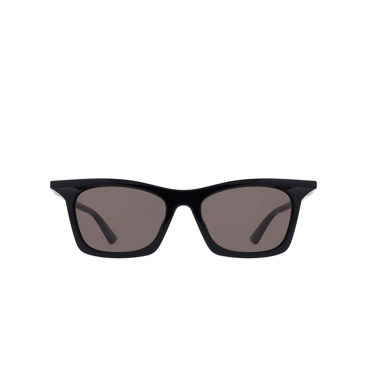 Balenciaga® Square Sunglasses: BB0099S color Black 001 - 1/3.