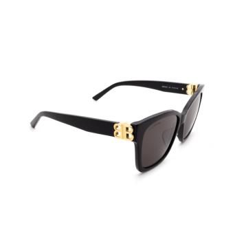 Balenciaga® Square Sunglasses: BB0102SA color Black 001.