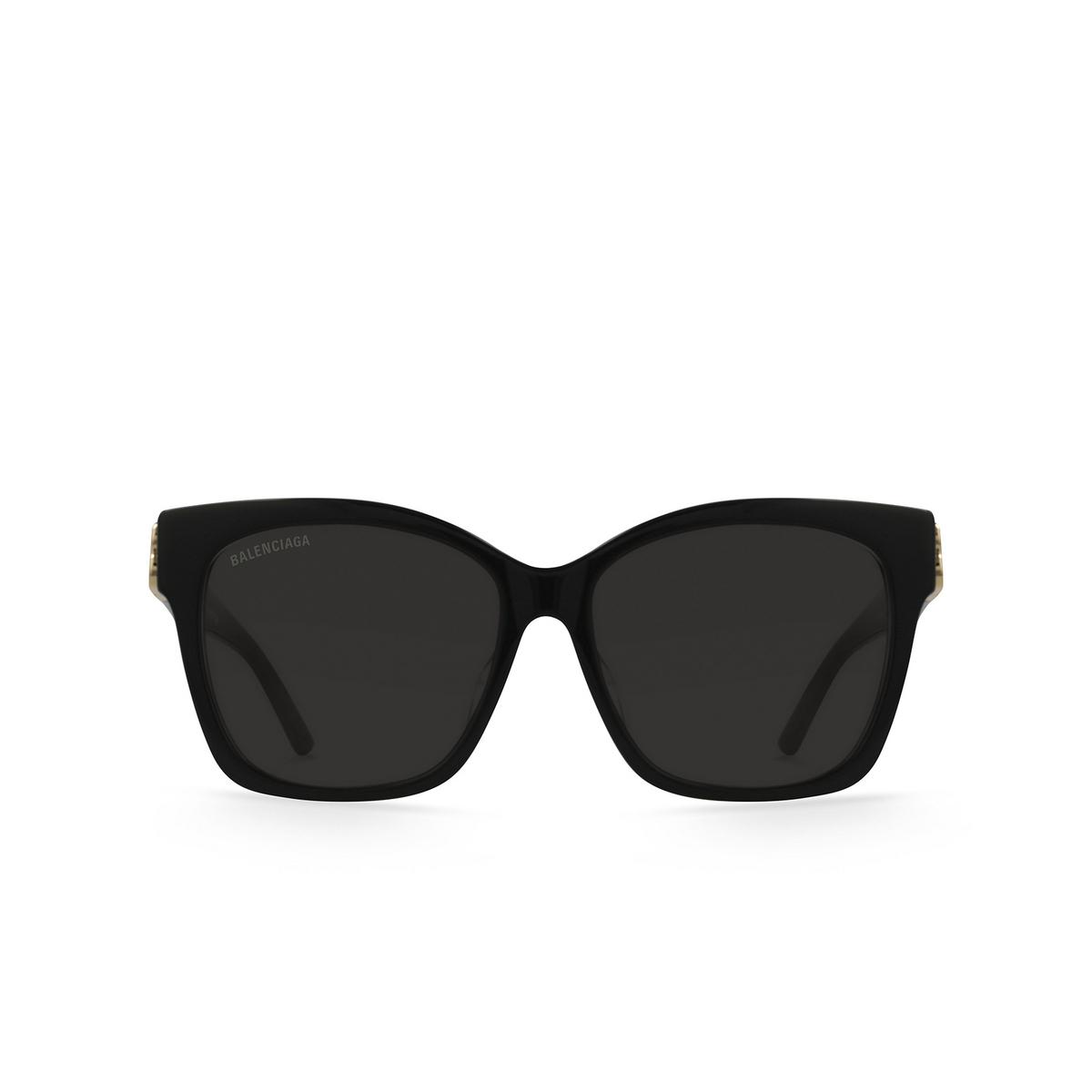 Balenciaga® Square Sunglasses: BB0102SA color Black 001 - 1/3.
