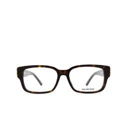 Balenciaga® Eyeglasses: BB0105O color Havana 002.