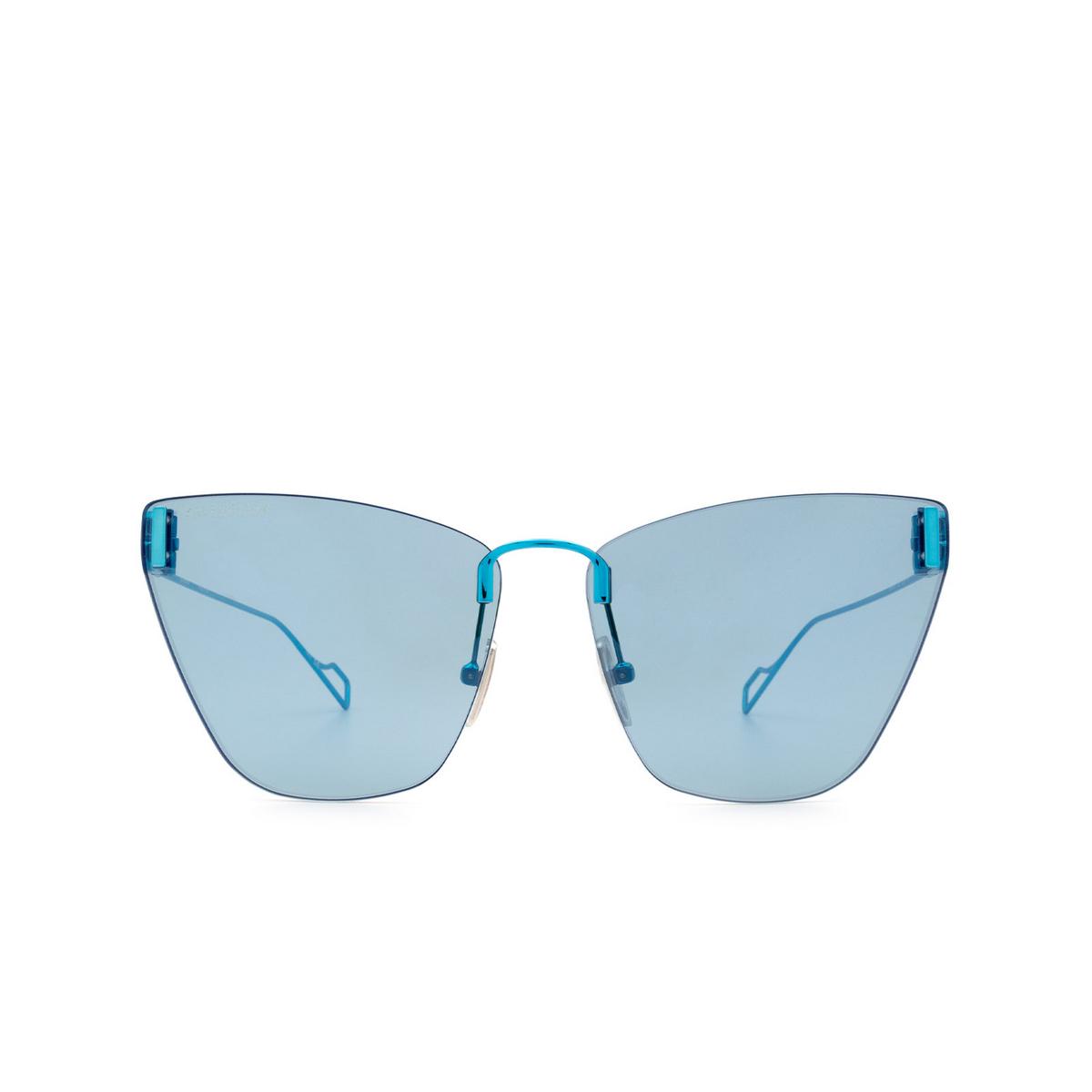 Balenciaga® Cat-eye Sunglasses: BB0111S color Light-blue 003 - 1/3.