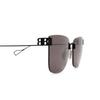 Balenciaga® Square Sunglasses: BB0112SA color Black 001 - product thumbnail 3/3.