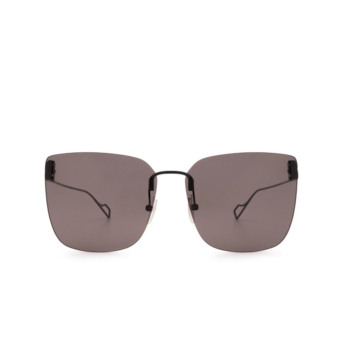 Balenciaga® Square Sunglasses: BB0112SA color Black 001 - 1/3.