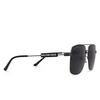 Balenciaga® Square Sunglasses: BB0116SA color Grey 001 - product thumbnail 2/3.
