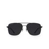 Balenciaga® Square Sunglasses: BB0116SA color Grey 001 - product thumbnail 1/3.