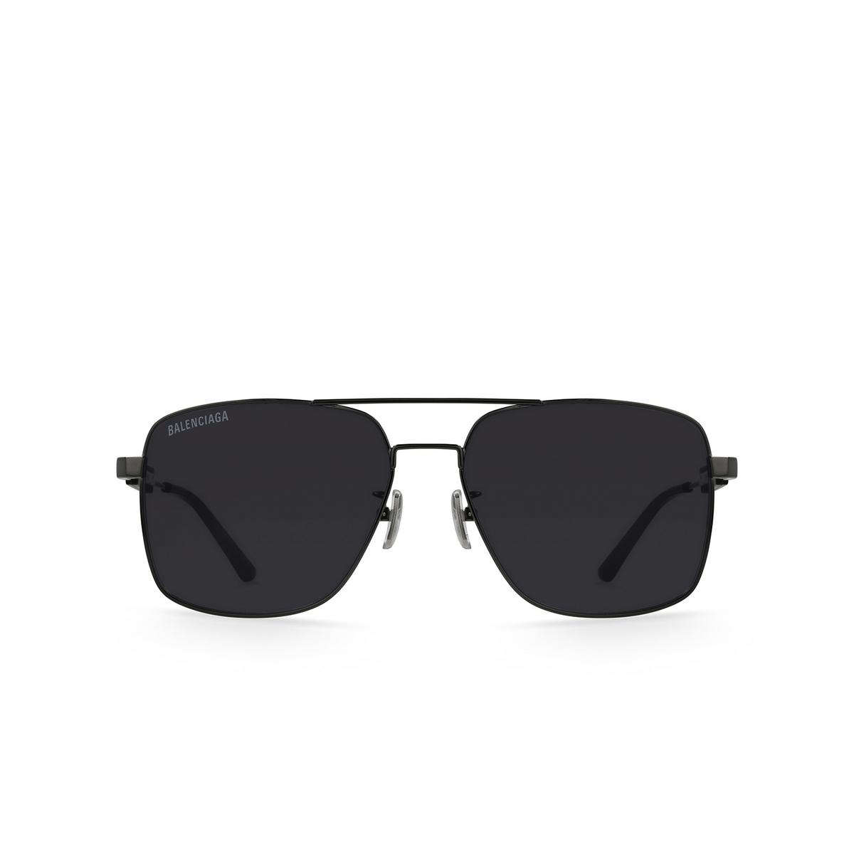 Balenciaga® Square Sunglasses: BB0116SA color Grey 001 - 1/3.