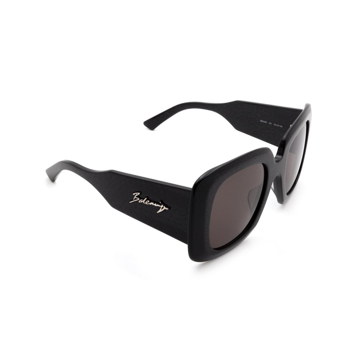Balenciaga® Square Sunglasses: BB0119S color Black 001 - 2/3.