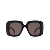 Balenciaga® Square Sunglasses: BB0119S color Black 001 - product thumbnail 1/3.