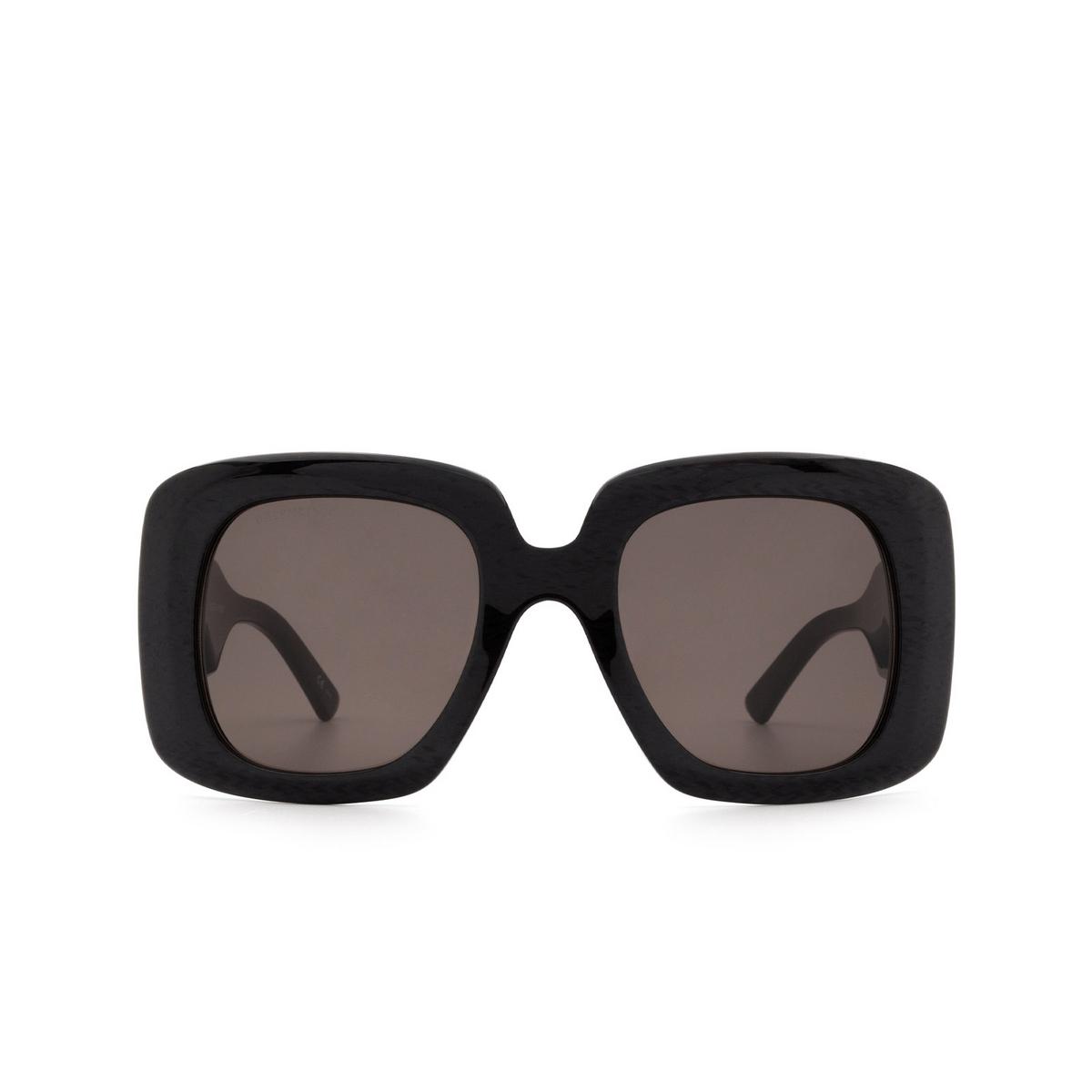 Balenciaga® Square Sunglasses: BB0119S color Black 001 - 1/3.