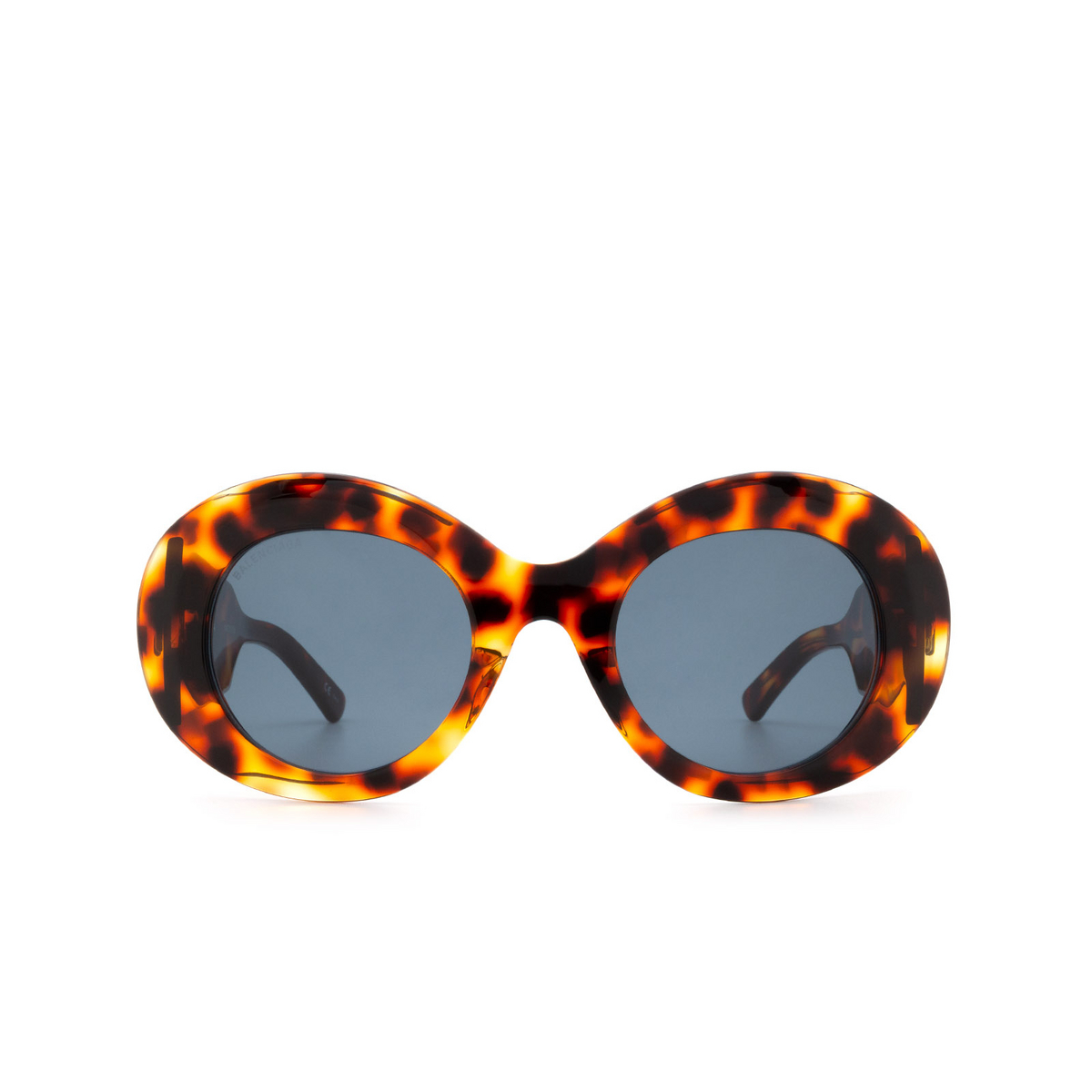 Balenciaga® Round Sunglasses: BB0120S color Havana 002 - front view.