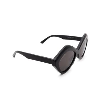 Balenciaga® Irregular Sunglasses: BB0125S color Black 001.
