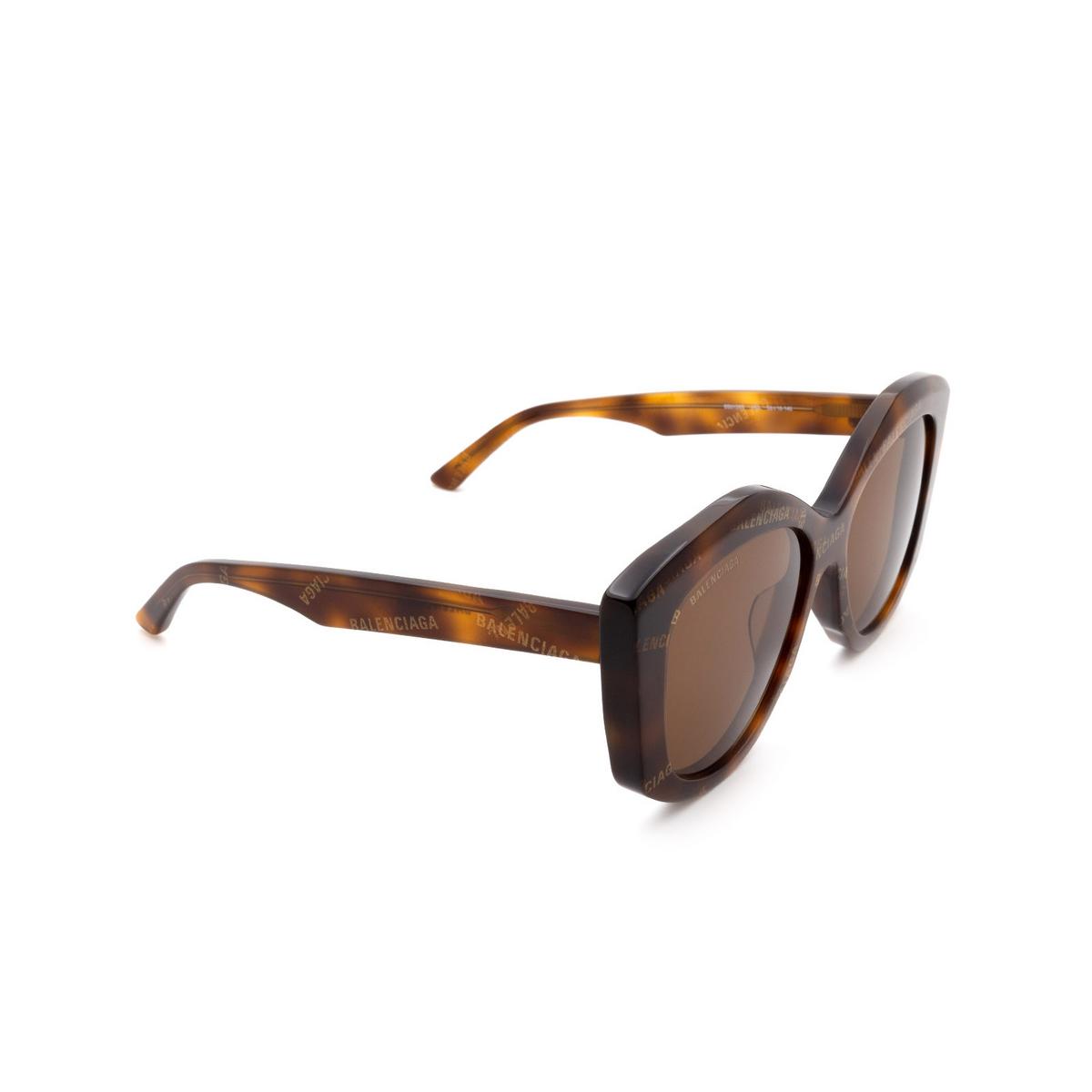 Balenciaga® Butterfly Sunglasses: BB0126S color Havana 002.