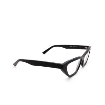 Balenciaga® Cat-eye Eyeglasses: BB0128O color Black 001.