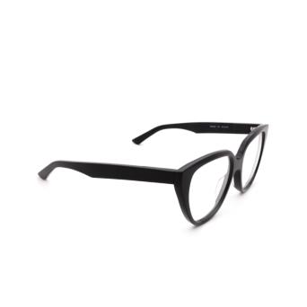 Balenciaga® Square Eyeglasses: BB0129O color Black 001.