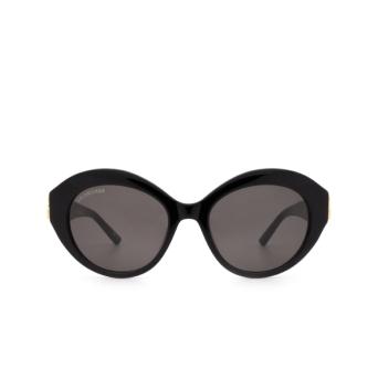 Balenciaga® Oval Sunglasses: BB0133S color Black 001.