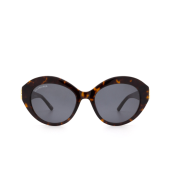 Balenciaga® Oval Sunglasses: BB0133S color Havana 002.