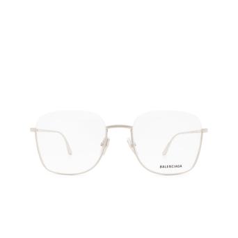 Balenciaga® Irregular Eyeglasses: BB0144O color Silver 002.