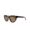 Balenciaga® Cat-eye Sunglasses: BB0149S color Havana 002 - product thumbnail 2/2.